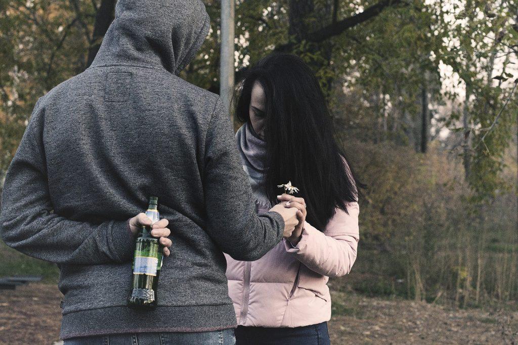 pårørende og krangel om alkohol